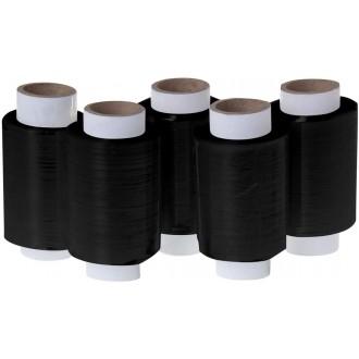 Folia stretch czarna mini 10cm/100m 80szt Wysyłka GRATIS !
