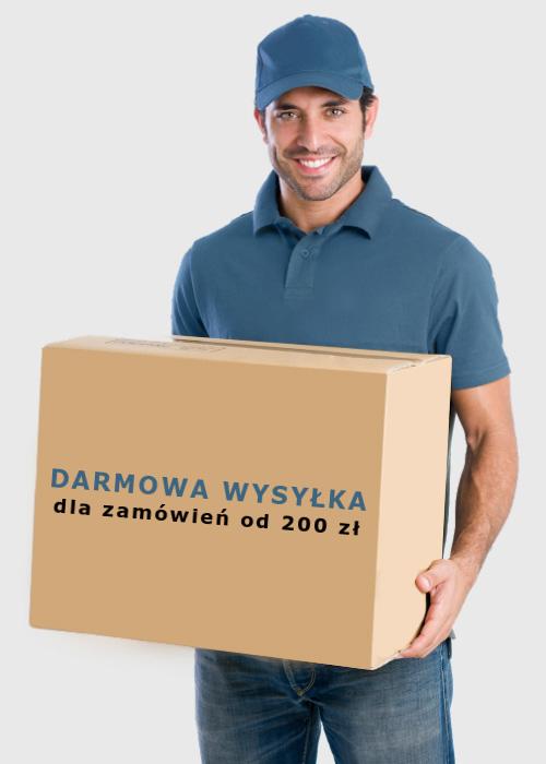 Darmowa wysyłka dla zamówień od 200 zł
